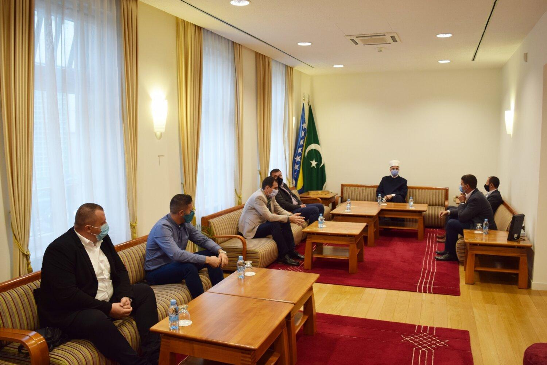 Muftija Fazlović primio predstavnike osnovnih odbora Udruženja ilmijje