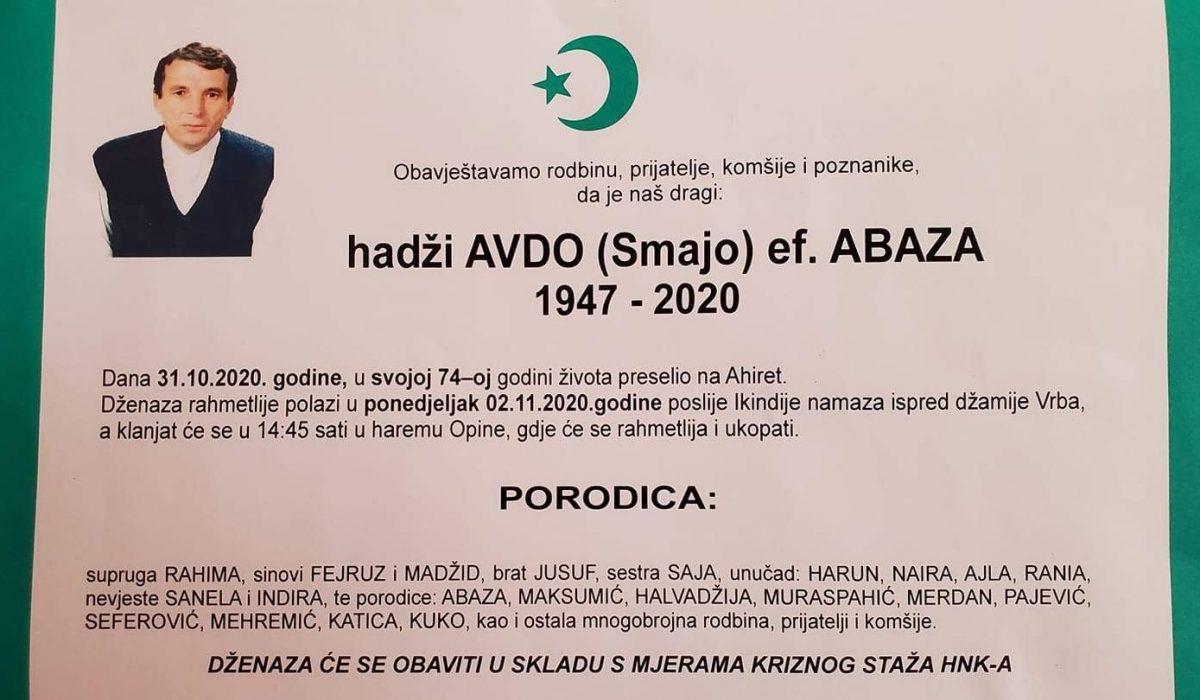 Avdo ef. Abaza