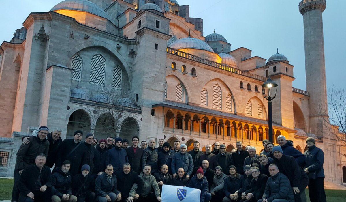 U posjeti Sulejmanija dzamiji
